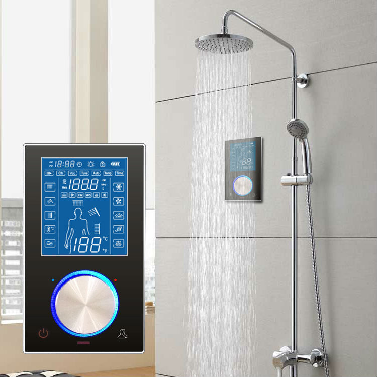 Smart Wall Mounted Shower Controller With Bath Room Radio