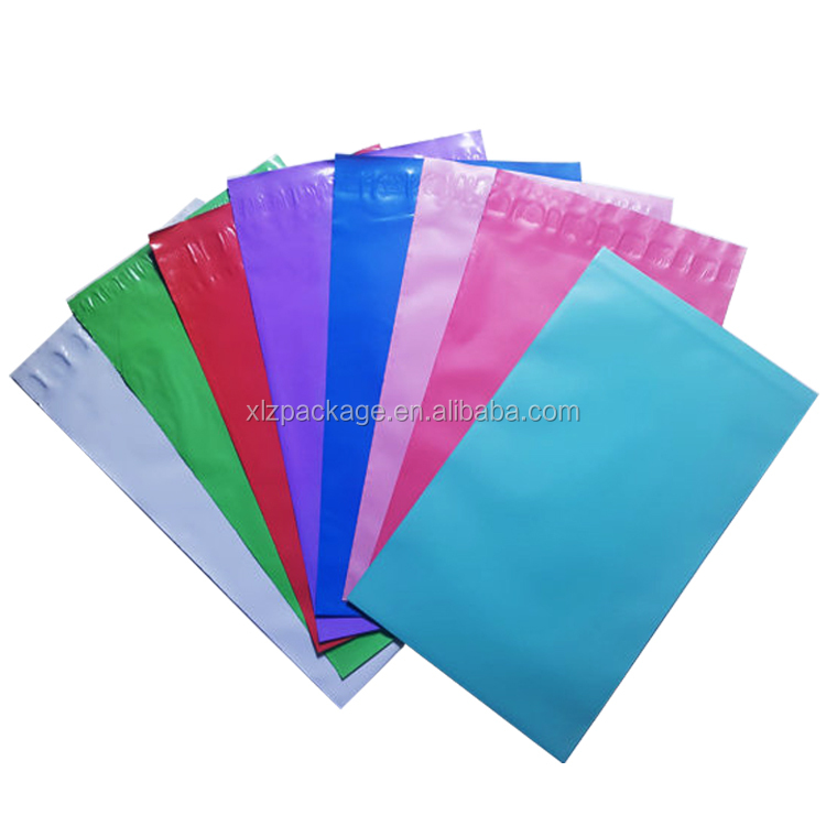 Multi Coloured Parcel Bags For Clothes With Colored Post Office Plastic Mailing