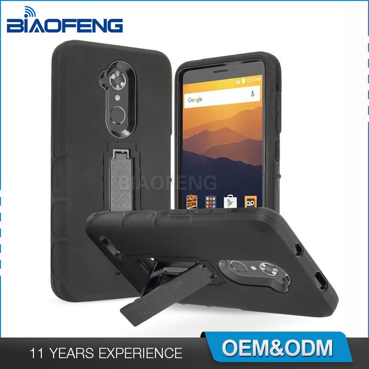 New Release Wholesale Price Mobile Phone Stand Cover For Zte Max Xl/ N9560  Boost Mobile - Buy Mobile Phone Cover,Mobile Phone Stand,Wholesale Price
