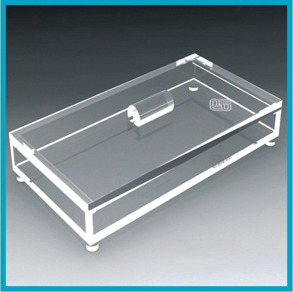 Custom Small Clear Acrylic Boxes With Hinged Lids Buy Small Clear