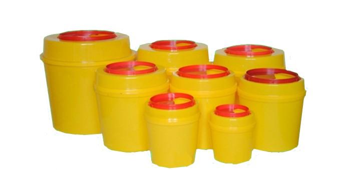 Hospital Use Plastic Disposable Bio Medical Waste Bins