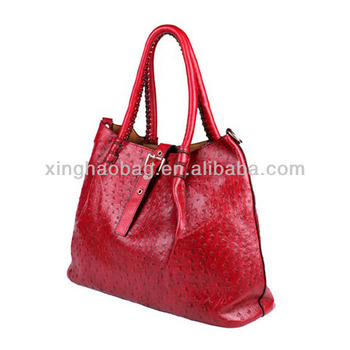 Innovative Birthday Gifts First Class Genuine Ostrich Leather Handbags For All Name Brand