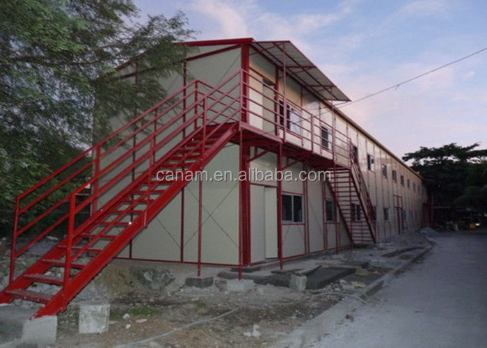 Quick assemble mobile storage container office with EPS sandwich panel