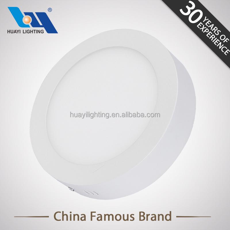 el uso de interior blanco llev la luz del panel led de iluminacin del hogar