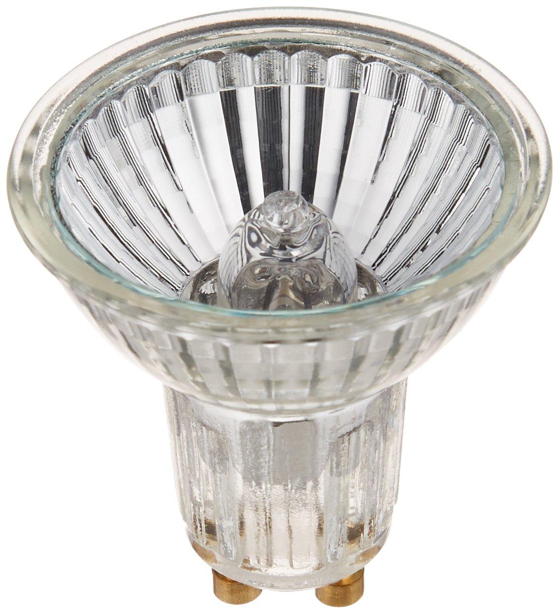SYLVANIA Tungsten Halogen Lamp Capsylite PAR16 / Halogen Flood Light Dimmable / GU10 Base / 50 Watt / 2850K - warm white