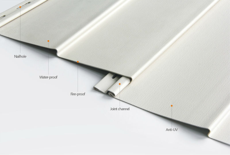 High Temperature Resistance 8 Inch Vinyl Siding Panel