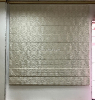 Quality Blackout Roman blinds with stainless steel side chain