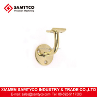 Customized CNC Machined Stainless Steel Brass Handrail Bracket With Good Quality