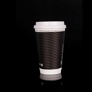 Ripple wall paper cup for hot beverage / drink /milk