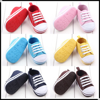 Fashion Casual Canvas Baby Hard Sole Walking Shoes Buy