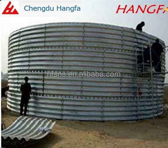 Slope protection corrugated metal pipe from China manufacturer