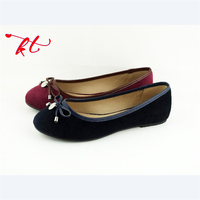 China Cheap Ladies Ballet Flat Shoes