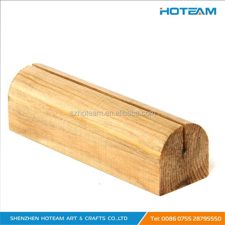 Wooden Base Table Tent Holder Buy Wood Table Tent Card Holder - Wooden table tents