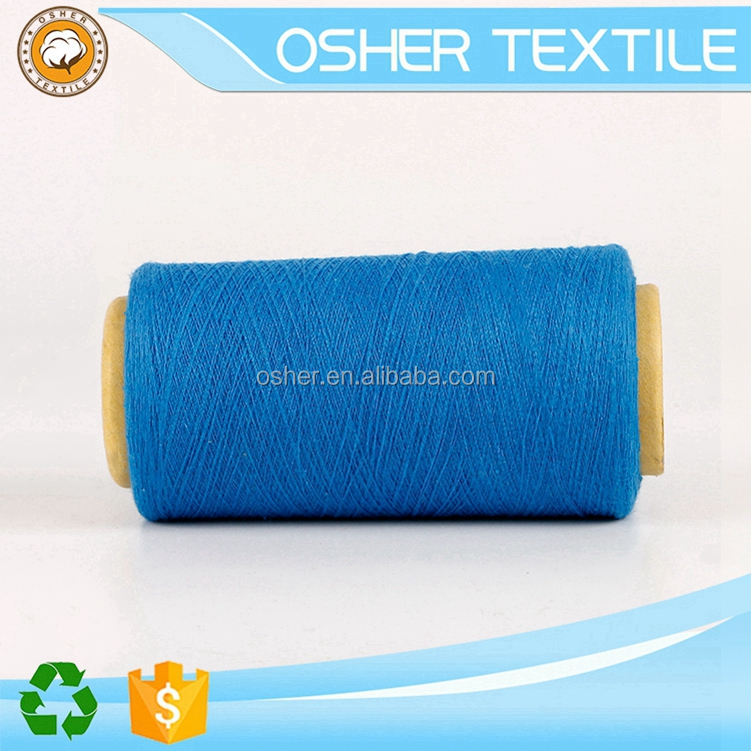Hot Sale Recycled bulk cotton wool knitting yarn
