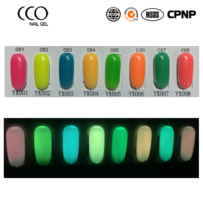 CCO 15ml Glow In The Dark Nail Polish Cheap Gel Polish High Quality Luminous Gel