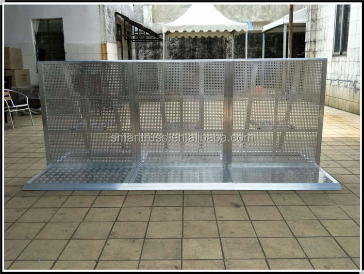 Stage Barrier Gate/Stage Barrier Cart/Straight Section Barrier crowd barrier