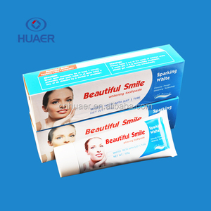 Brand new teeth whitening toothpaste