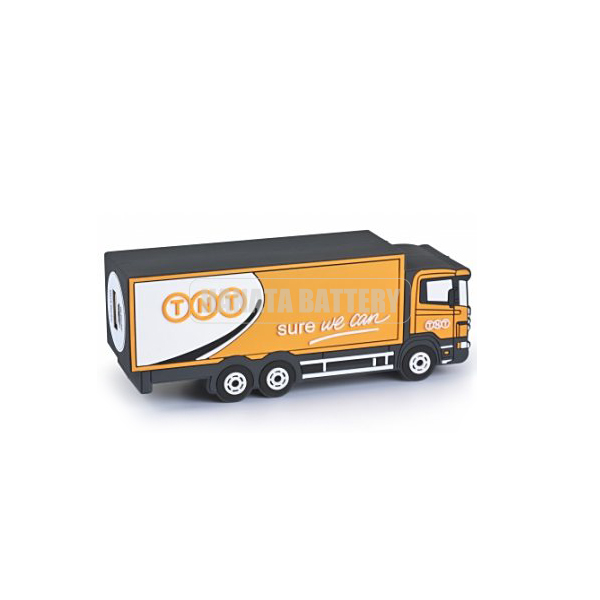 2600mAh Promotioanl Gifts Truck Shape Custom Power Bank Made in China