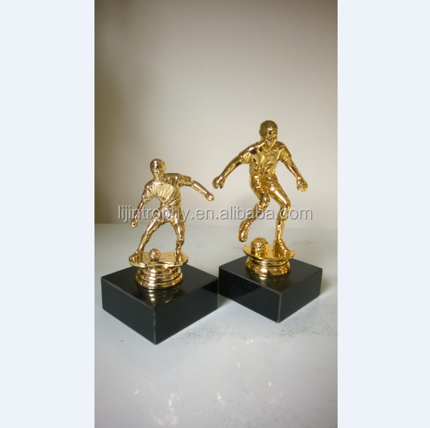 Soccer Sports Award Trophy Set - Champion Recognition Achievement Awards - For Kids & Adults