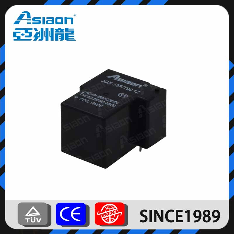 JQX-15F t90 20a mini pcb mounting types of electrical relays