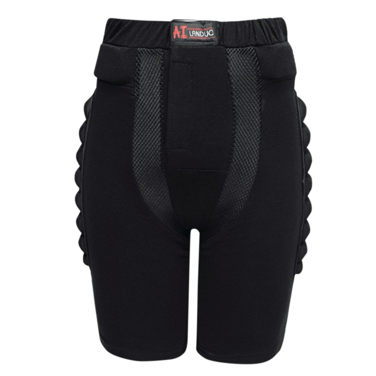Haseil Hip and Butt Pad Eva Protective Drop Resistance Gear Roller Padded Shorts
