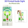 2016 Best Seller 3D Printed Guide Sight Pokemon Go Phone Case for iPhone 6 / 6s