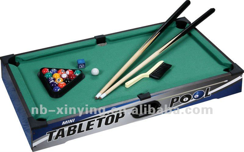 Mini Pool Table Games, Tabletop Pool Table