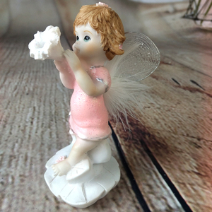 Top Quality Resin Figurines Angel Garden Statues For Decoration