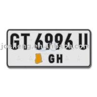 auto license plate