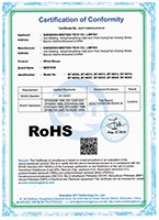 certification Wired Mouse RoHS