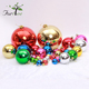 Hot sale cheap custom mini christmas tree decoration colored hanging balls