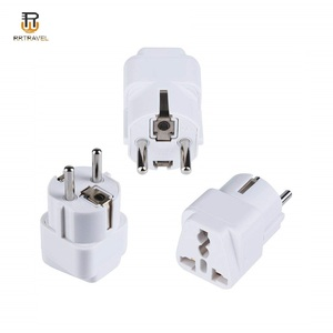 German France plug universal travel adapter 220v to 110v