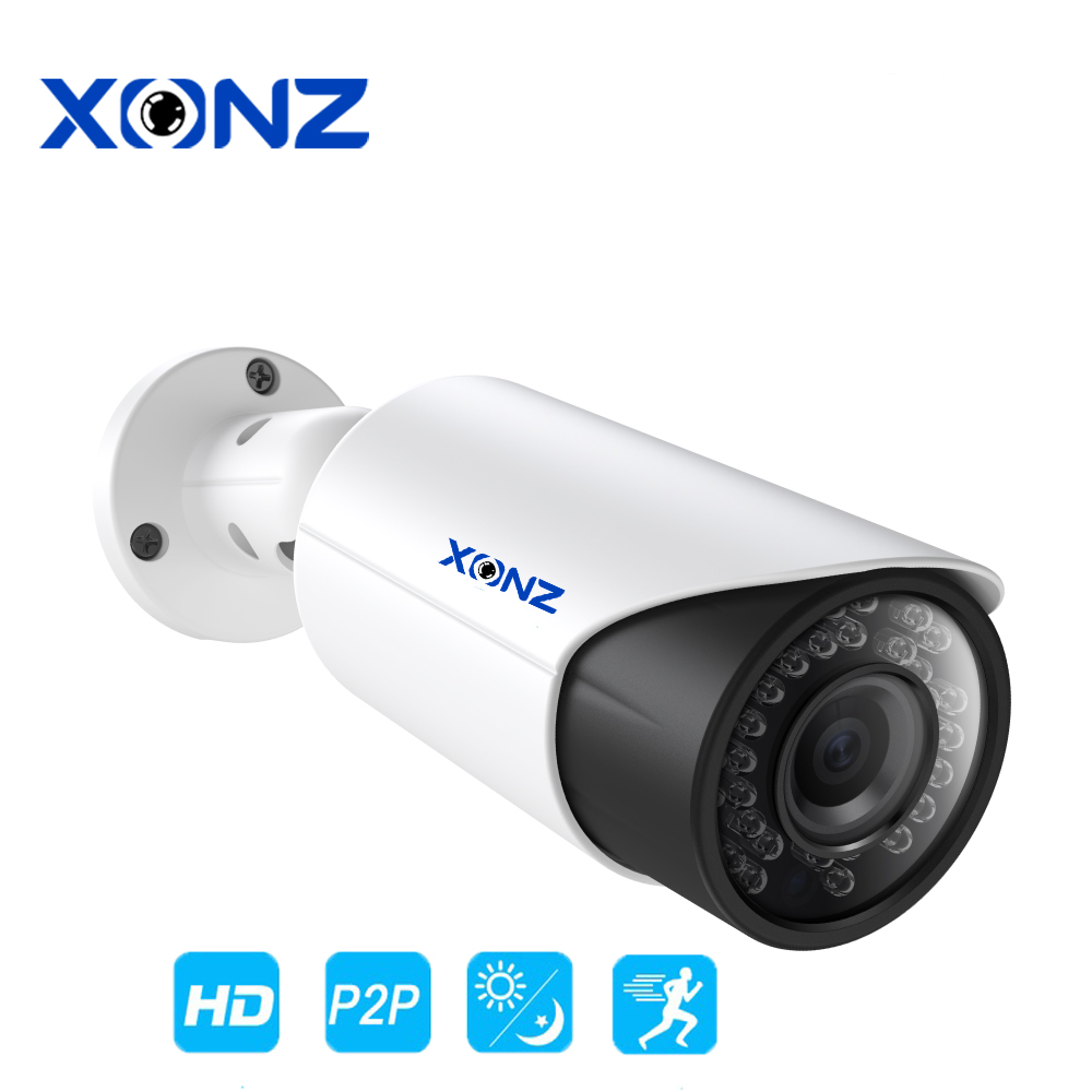 Xonz CCTV Security Camera 5 mp ip 66 wdr 120 db outdoor Project Camera for government