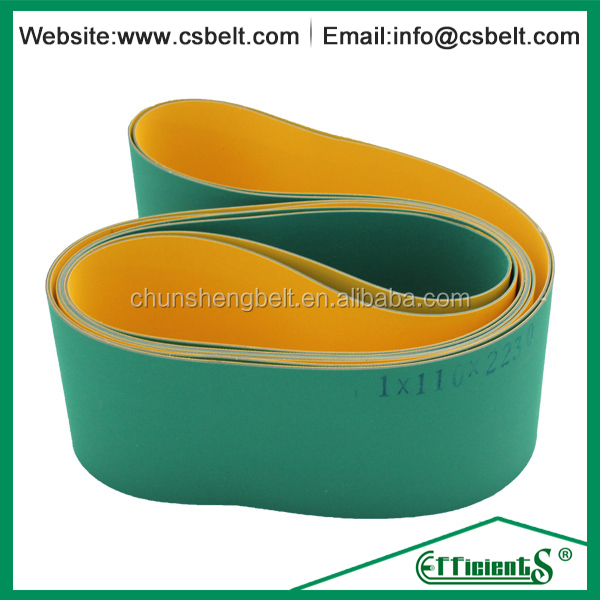 Discount NBR/Polyamide rubber turntable belts for textile machines