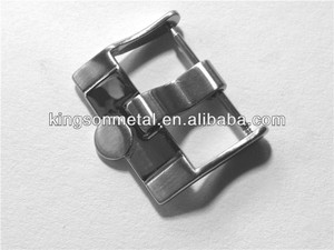 solid stainless steel brand swiss watch buckle