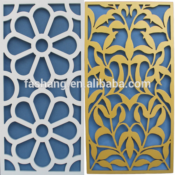 3d Mdf Grille Decorative Japanese Laser Cut Room Divider