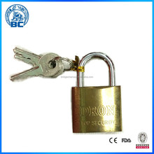Factory Direct Sale With Top Quality Pad Locks Brass Padlocks Pad Lock