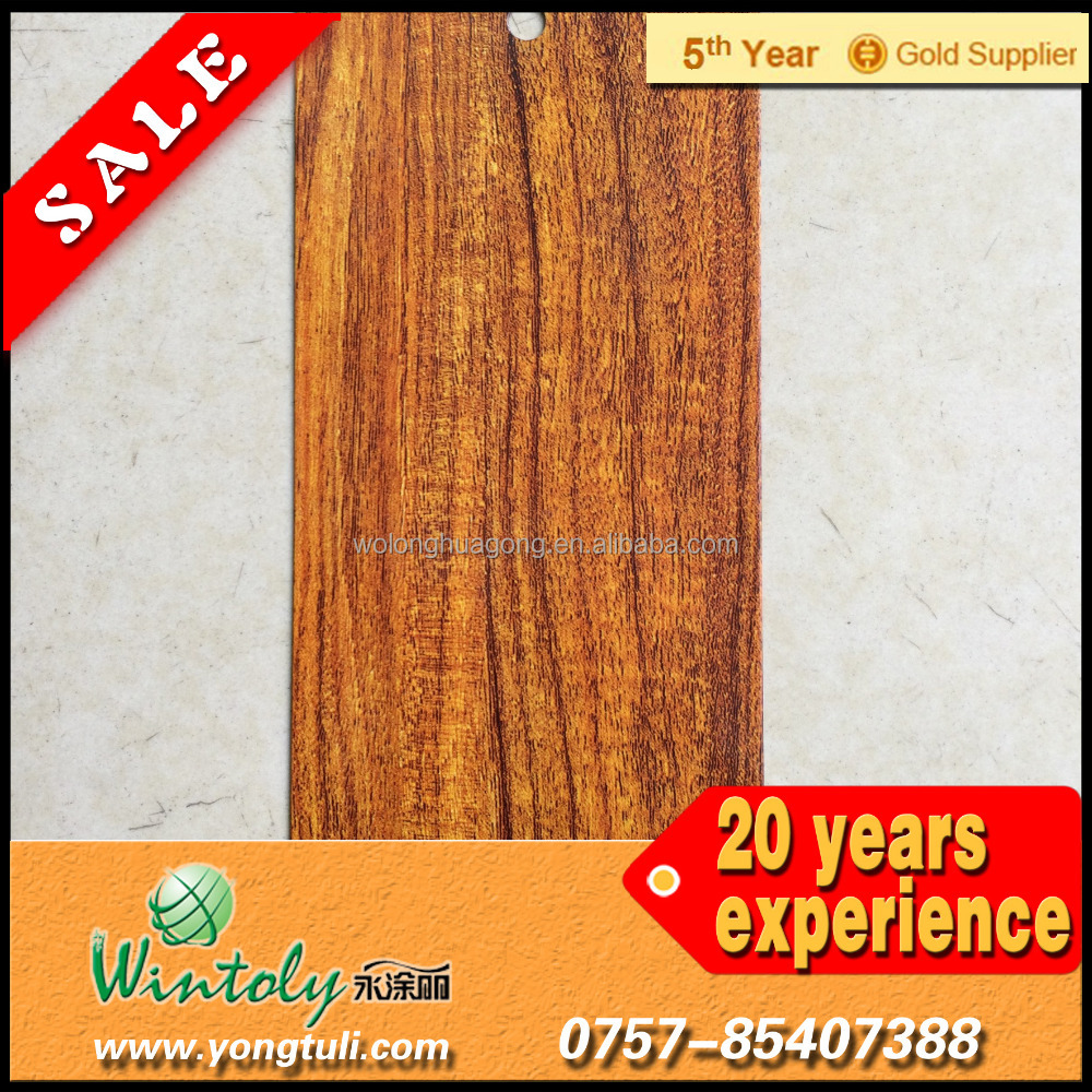 Wood texture spray paint for furniture use