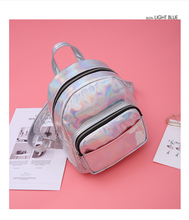 Girls trendy Hologram Backpacks Laser Holographic School backpacks Wholesale
