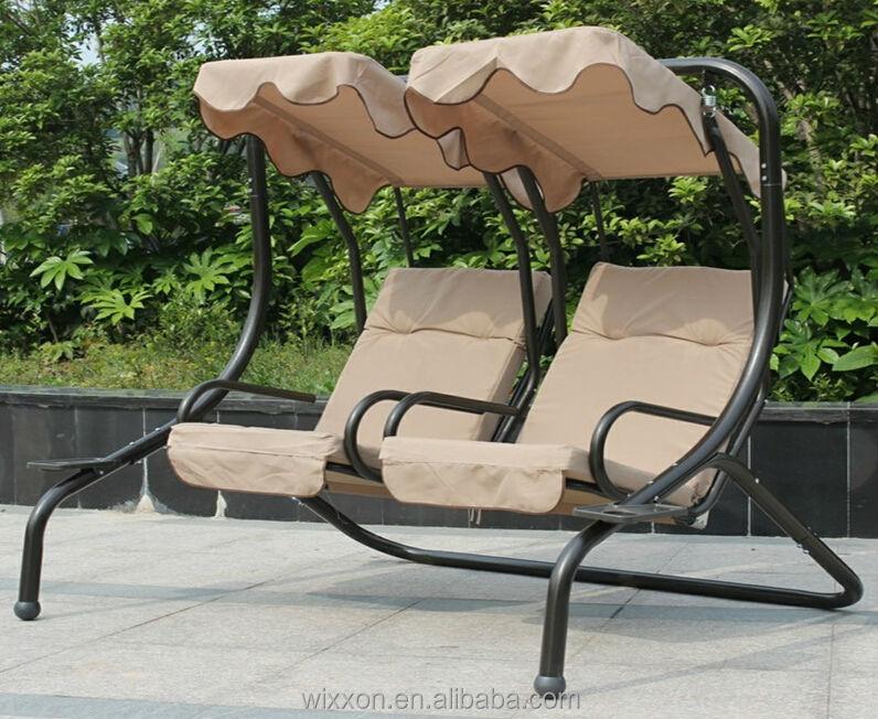 Genial Two Seats Swing Chair,Patio Swing Chair,Garden Swing Chair,Outdor Swing  Chair,Luxury Swing Chair With Waterproof Canopyu0026cushion   Buy Two Seat  Swing ...
