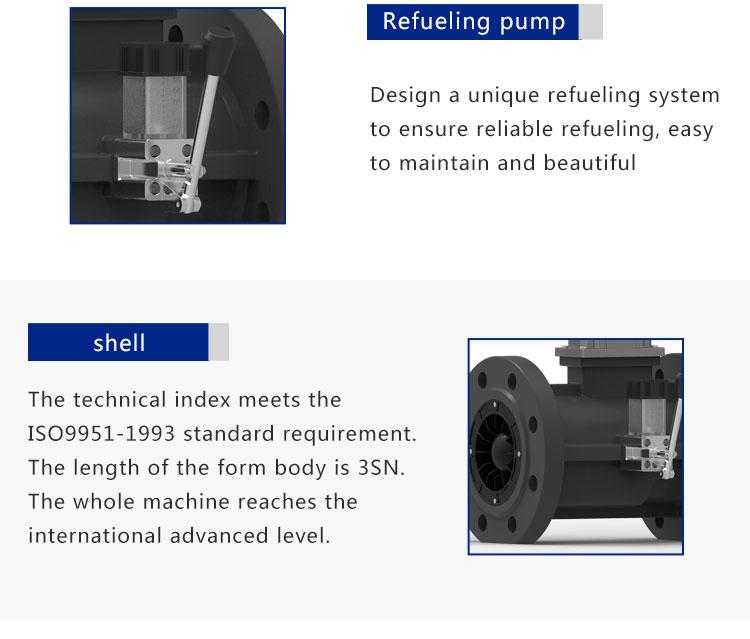 Gas Turbine Flowmeter DN80 hydrogen gas flow meter AIR FLOW SENSOR