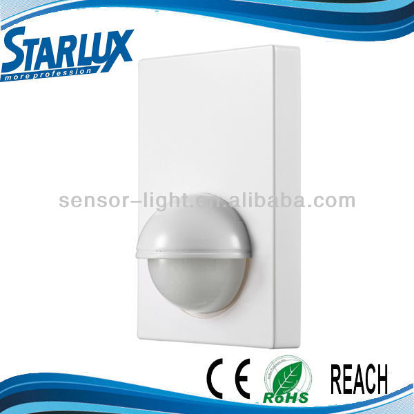 New Invention ST16 Infrared Motion Sensor IP44 PC Material Indoor Wall Mount