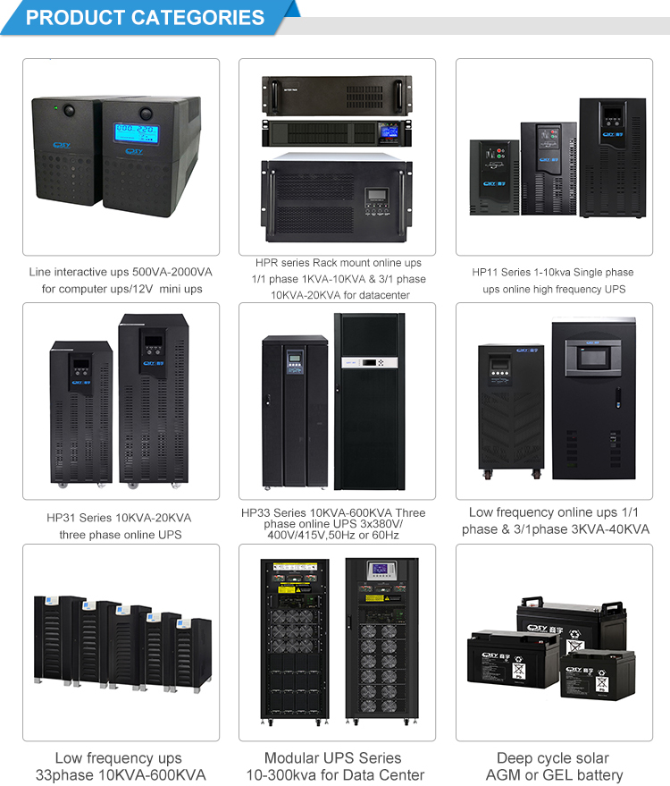 China best quality  Manufacturer Wholesale 90KVA / 90KW high quality modular ups