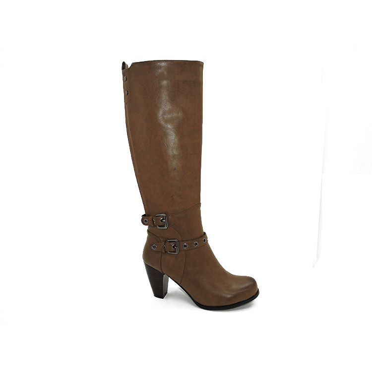 Knee Boots Ladies Genuine Leather Dress Boots
