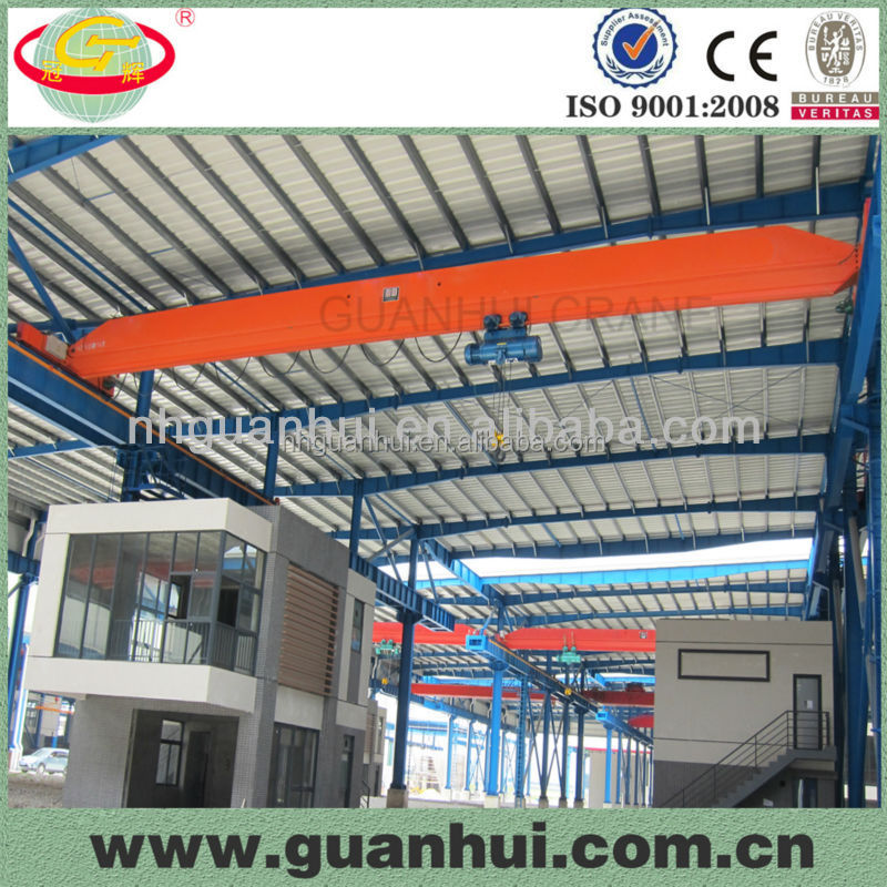 fast delivery electric single beam gear motor crane