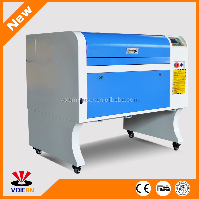 Wholesale!!!WR-4060 50W Textile Machinery fabric labels laser cutting machine with auto feeding