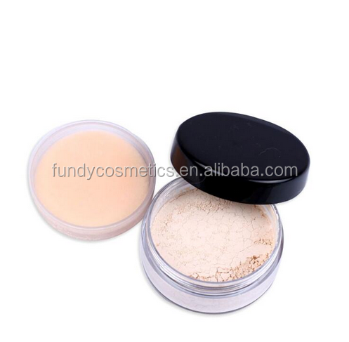 OEM Loose Powder Makeup Foundation Best White Oil Control Waterproof Setting Powder Face Powder For Oily Skin