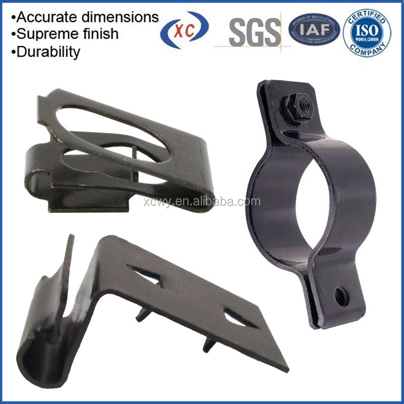 OEM ODM customized Glass bracket glass clips/Casting parts clips to glass clamp/Glass holding clips