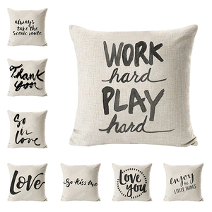 Work Hard Play Hard Customized Motivational Quotes Nursing Pillow Cover
