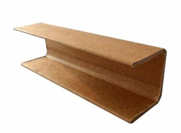 Plywood Corner Protector ~ Paperboard pallet edge protector guard cardboard
